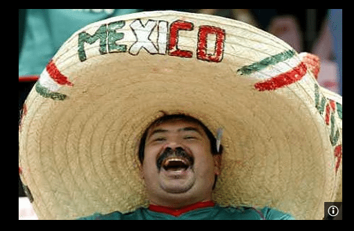Saturday 25 April 2015 Mexican Touring Sides