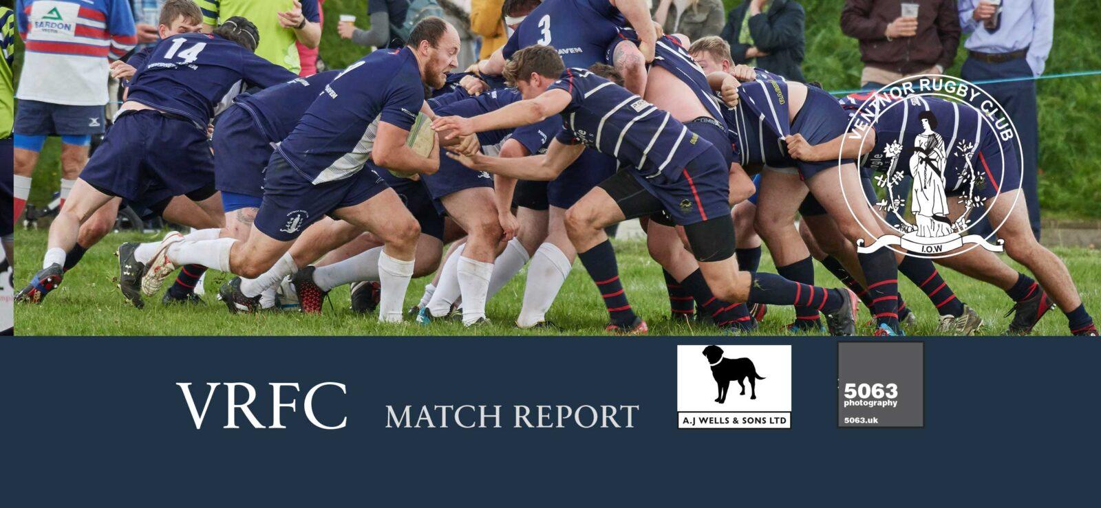 Match report: Sandown & Shanklin 1st XV RFC 63-17 Ventnor RFC 1st XV, 16 Sept 2017