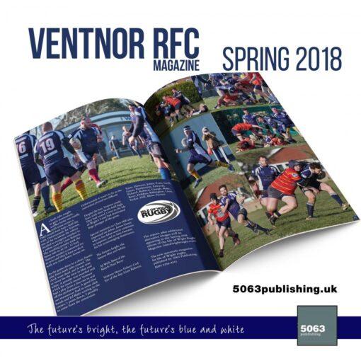 VRFC magazine spring 2018 mockup spread 2500 f