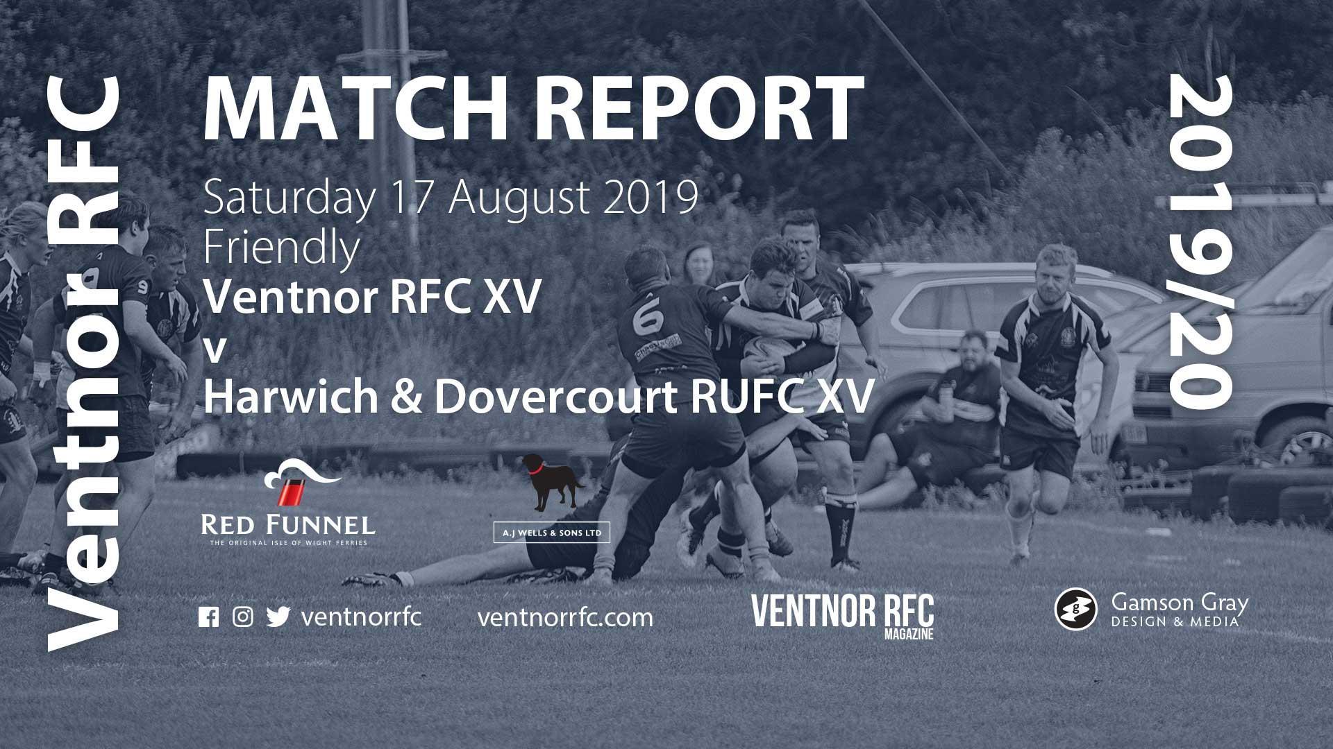 Ventnor RFC XV 54 – 10 Harwich and Dovercourt RUFC XV, 17 Aug 2019