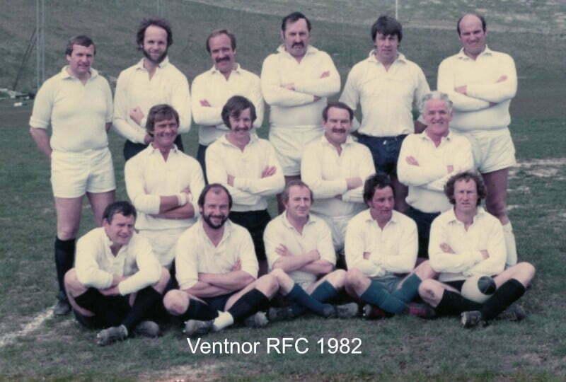 ventnor rfc 1982 season team photo