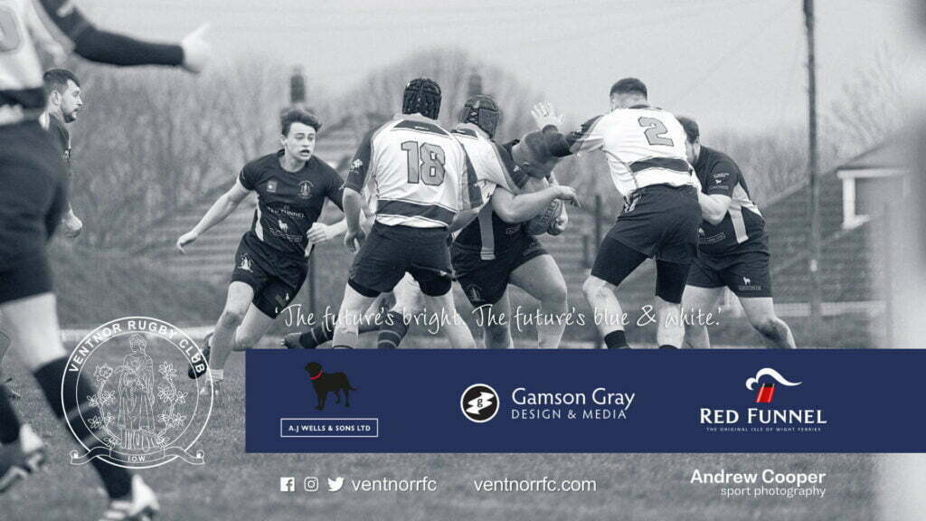 Ventnor RFCs Harry Colson in the Sandown and Shanklin RFC v Ventnor RFC game of 5 Dec 2020