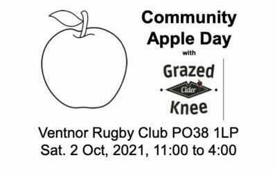 Community Apple Day with Grazed Knee Cider Saturday 2 October 2021