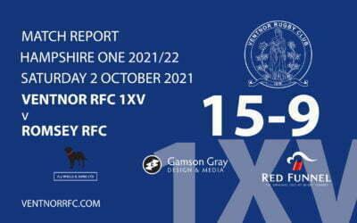 Ventnor RFC 1XV 15-9 Romsey RFC Saturday 2 October 2021