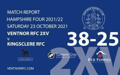 Ventnor RFC 2XV 38-25 Kingsclere RFC Saturday 23 October 2021