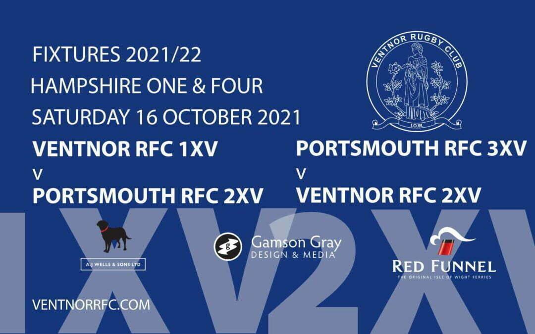 Ventnor RFC Rugby this Saturday 16 October 2021