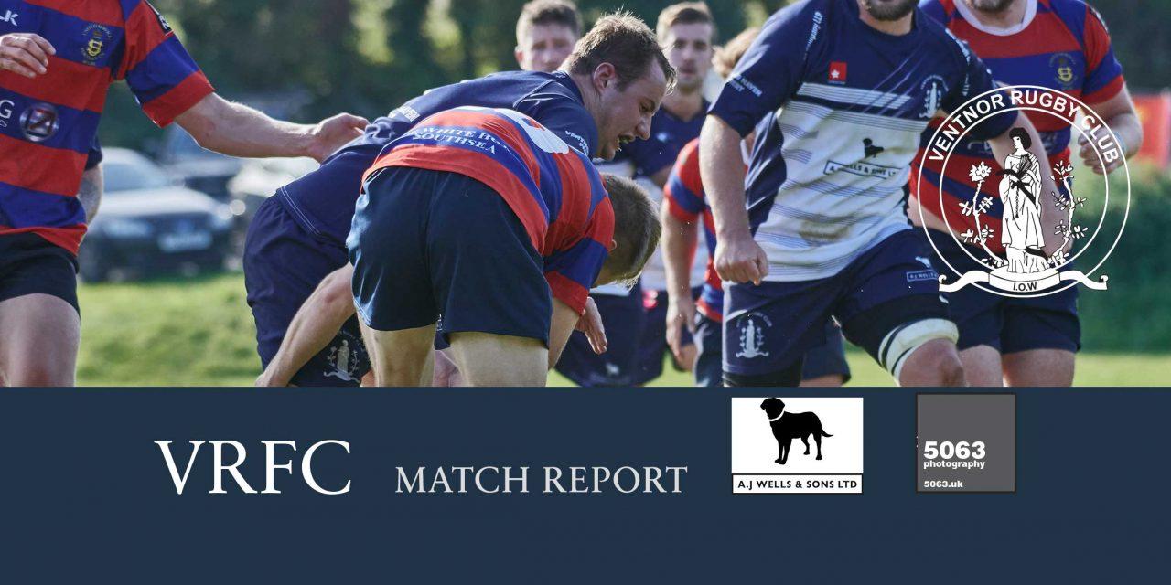Match report: Ventnor 1st XV 17-45 US Portsmouth 1st XV, 23/09/2017