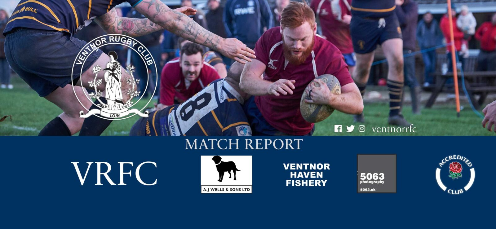 Match report: Ventnor RFC 1st XV v Isle of Wight RFC 1st XV, 25/11/2017