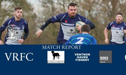 Match report: Overton 1st XV v Ventnor 1st XV, 09/12/2017