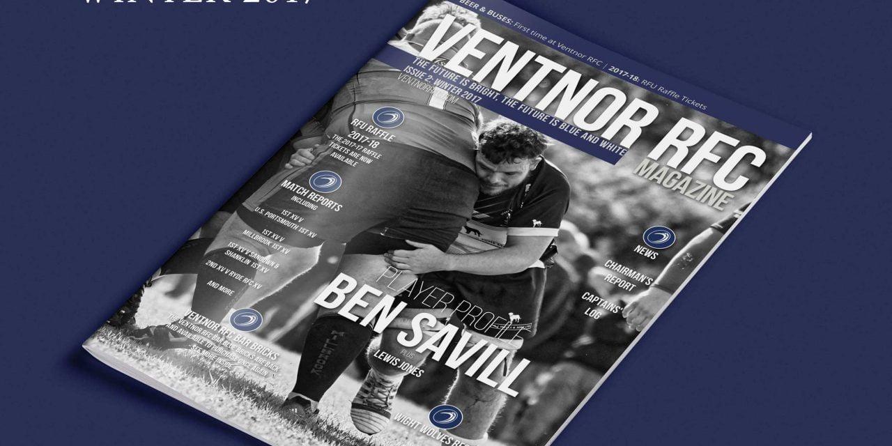 Ventnor RFC Magazine Winter 2017 edition