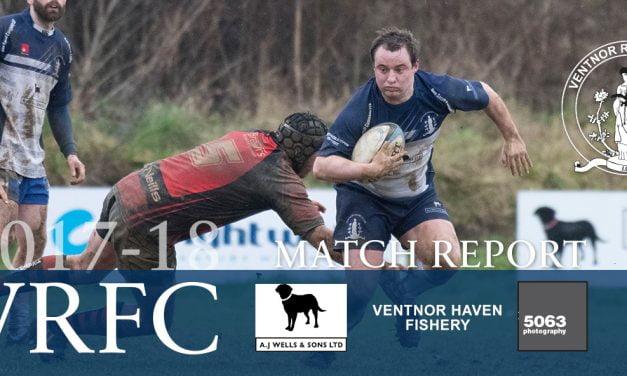 Match report: Ventnor RFC 1st XV v Fareham Heathens RFC 1st XV, 03/02/2018