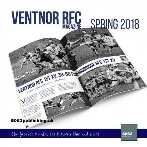 VRFC magazine spring 2018 mockup spread 2500 c