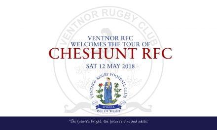 Match report: Ventnor RFC XV v Cheshunt RFC, 12/05/2018