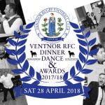 Ventnor RFC End of Season Dinner Dance & Awards 2017-18