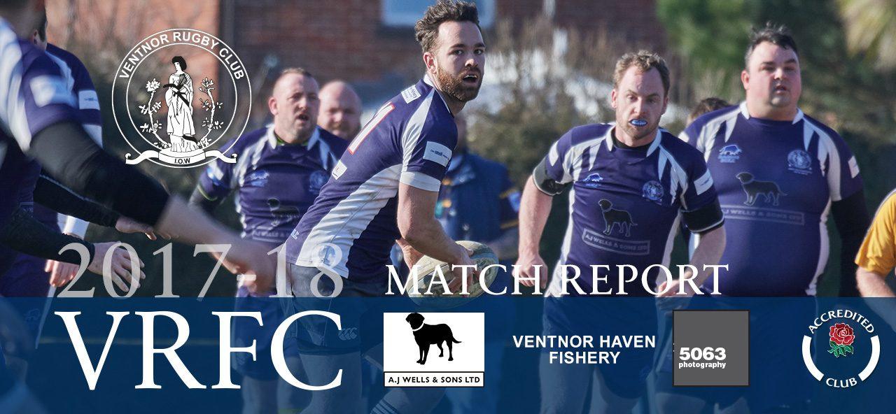 Match report: Bognor RFC 1st XV v Ventnor RFC 1st XV, 17/03/2018