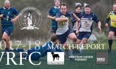 Match report: Ventnor RFC 1st XV v Overton RFC 1st XV, 07/04/2018