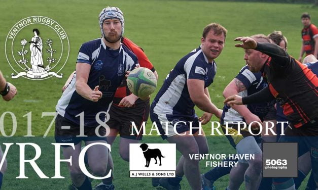 Match report: Ventnor RFC 2nd XV v Alton RFC 2nd XV, 07/04/2018