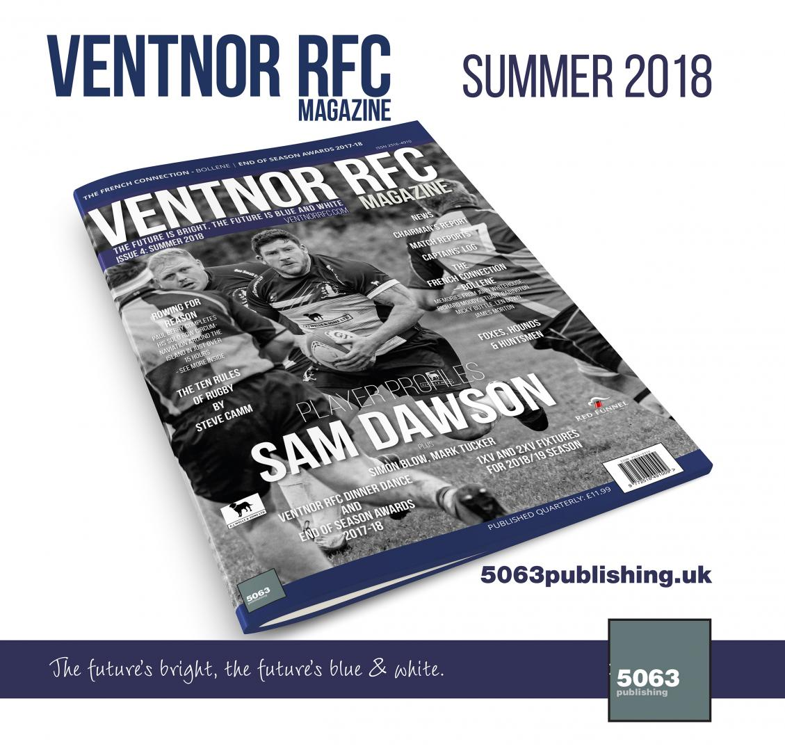 Ventnor RFC Magazine: