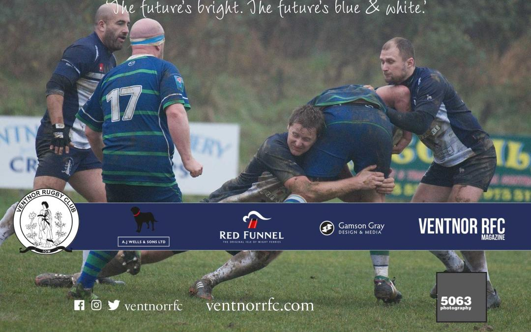 Match report: Ventnor RFC 1XV v Overton RFC 1XV, 1 December 2018