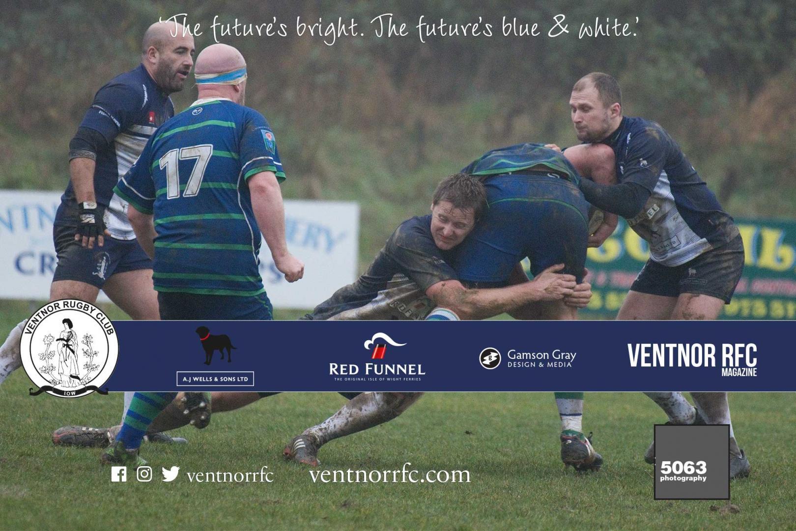 Match report: Ventnor RFC 1XV v Overton RFC 1XV, 1 December 2018