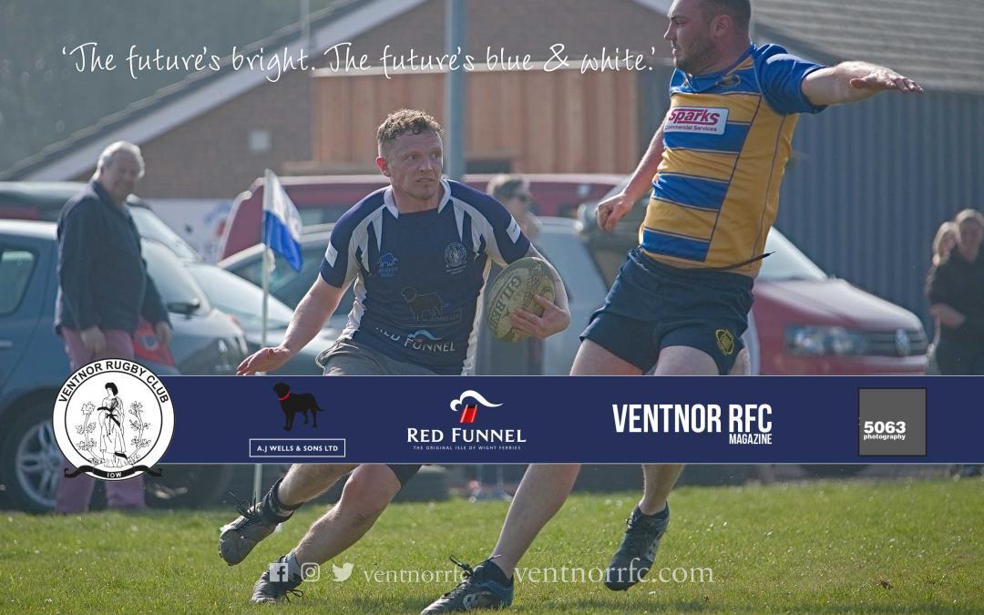 Match report: Ventnor RFC 2XV 47-10 Romsey RFC 2XV, 30 March 2019